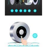 De ronde Mini Draadloze Spreker Bluetooth van het Roestvrij staal