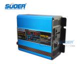 Инвертор солнечной силы регулятора 12V Suoer 500W Built-in солнечный с заряжателем (SUS-500A)