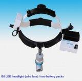 의학 외과 LED 헤드라이트 재충전 전지 휴대용 치과 Ent 맨 위 램프