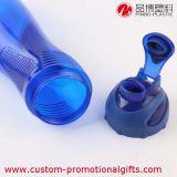 Bottiglia di acqua di plastica di sport del coperchio a vite largo della bocca