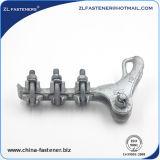 Abrazaderas de tensión de la línea de alta tensión de la aleación de aluminio