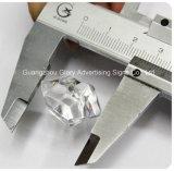 Hielo de acrílico modificado para requisitos particulares de la decoración de la barra del bloque de hielo del bloque de acrílico del cubo