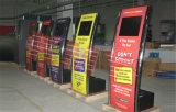 Kiosque libre de stationnement de service mince superbe d'individu