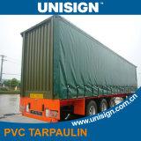 Het antistatische pvc Gepaste Geteerde zeildoek van de Dekking van de Vrachtwagen