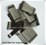 Cho 56/35 (SIKA) de fibra de aço colada para o fabricante principal concreto, tipo de Tianyi