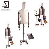 Тело мыжского манекена половинное, мыжской половинный торс Mannequines для индикации окна