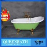 Bañera libre, tina de baño barata de Clawfoot del torbellino de acrílico Jr-B810