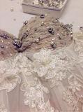 思いがけないビーズのキャミソールの王女ウェディングドレス(夢100030)