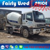 De goede Vrachtwagen van de Concrete Mixer Isuzu van de Vrachtwagen van de Mixer van het Cement van Isuzu van de Voorwaarde Japan Gebruikte
