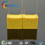 Condensador metalizado de la película del polipropileno (X2 0.47UF/275V D5)