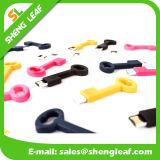 Moderner kundenspezifischer Gummi USB für Förderung (SLF-RU006)