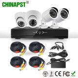 2017의 최신 Indoor&Outdoor HD 사진기 시스템 4CH CCTV Ahd DVR 장비 (PST-AHDK04B)