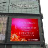 3 anni della garanzia HD P6 del video di visualizzazione di LED Full-Color esterna per fare pubblicità