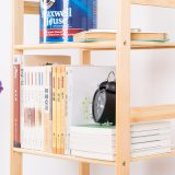 Neue 4 Tier Solid Wood Book Shelf (WS16-0070, für Hauptmöbel)