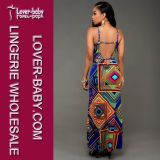 Robe de survêtement de femme de vêtement de vêtements d'habillement de mode (L51308-1)