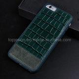 Het gehele Geval van het Leer van het Patroon van de Krokodil van de Bescherming Echte voor iPhone 6 plus