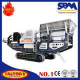 Eisenerz-mobile zerquetschenpflanzenbewegliche Eisenerz-Brecheranlage