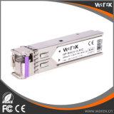 Émetteur récepteur optique de Tx 1490nm/Rx 1550 nanomètre 80km BIDI SFP avec la fonction de DDM
