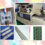 3 a C.C. 12V do diodo emissor de luz SMD5050 Waterproof a luz do módulo do diodo emissor de luz da injeção