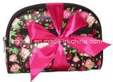 Assortimento cosmetico promozionale del sacco del PVC della tela di canapa delle signore di modo piccolo