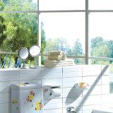 Miroir décoratif Q16 d'acier inoxydable de mur extensible de salle de bains