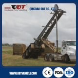 45ton Wabco Braking System Superlift Sugarcane Skeleton Trailer