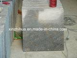 Итальянский серый мраморный мрамор серого цвета золота плитки