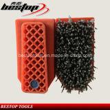 Tipo forti spazzole di Fickert di filo di acciaio per granito/marmo di lucidatura