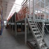 Plataforma de acero del almacén para el estante de múltiples capas del almacenaje