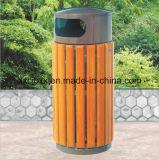 prese a parete di legno dei rifiuti del giardino 40L/pattumiera di legno