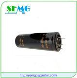 condensador electrolítico de aluminio del ventilador del condensador que comienza de 6800UF 350V