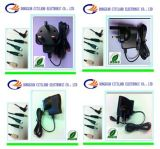 8W BS Plug AC/DC Adapter Black