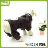 Vêtements d'animal familier d'ours de nounours de flanelle (HN-PC787)