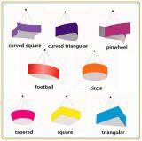 Bandiera sospesa al soffitto alla moda con il tessuto di tensionamento (10ft)