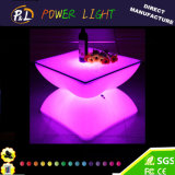 Colorful LED Round Table basse / LED Furniture