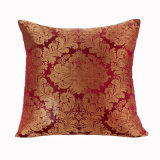 Coxim de seda do estilo do jacquard para a decoração Home