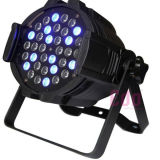 Dimming DMX512 Stage Light 54X3w RGBW Décoration de mariage