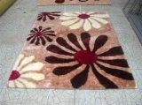 Pequeña alfombra de seda fresca