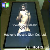 AluminiumMagnetic LED Frame Movie Poster für Advertizing Display