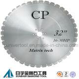 Профессиональное лезвие алмазной пилы для бетона армированного
