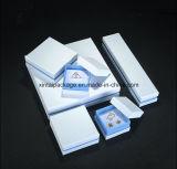 Caixa de jóia de papel para o anel, o brinco, a colar, a pulseira e a colar