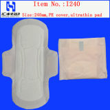 Mulheres guardanapo sanitário para senhoras Sanitária Pad manuacturer na China
