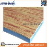 Цвет циновки пены ЕВА деревянный, деревянная циновка ЕВА зерна