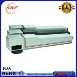 máquina de la etiqueta de plástico del laser de la fibra 20With30With50W para el grabador de la insignia de los productos