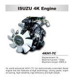 2t-5t Isuzu 600p scelgono la riga Van Truck di bassa potenza