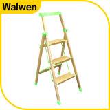 De beste Behendigheid die van de Veiligheid van het Huishouden van Prijzen de Ladder van het Aluminium van 5 Stap vouwen