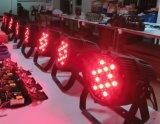 알루미늄 54X3w RGBW 옥외 IP65는 LED 동위를 방수 처리한다
