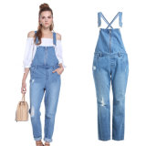 2016合のSlim Fit Denim Jeans方法熱い販売法の女性
