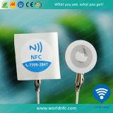 Autocollant adhésif de cuivre de l'IDENTIFICATION RF NFC d'ISO14443A Paper13.56MHz Ntag213