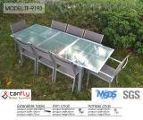 競争価格の高品質の鋳造アルミの庭の家具の白
